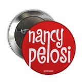 "Retro Nancy Pelosi 2.25"" Button (10 pack)"