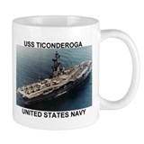 USS TICONDEROGA<BR>Coffee Cup