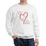 Aussie Heart Belongs Sweatshirt