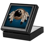Metis Art Keepsake Box Wildlife Native Art Box