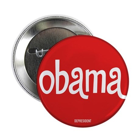 Retro Obama Button