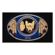 First Nations Sticker Metis Rebellion Wolf Art
