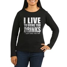 April Fools: Drinks T-Shirt