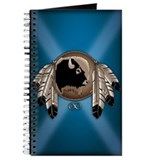 Native Art Journal Notepad Wildlife Artwork