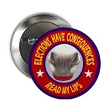 ELECTIONS HAVE CONSEQUENCES Button