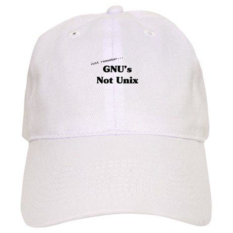 GNU's Not Unix Cap