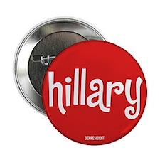 Retro Hillary Button