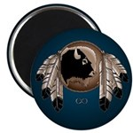 "Native Art 2.25"" Magnet 100 pack Wildlife Artwork"