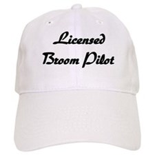 Licensed Broom Pilot Baseball Cap