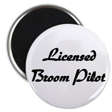 "Licensed Broom Pilot 2.25"" Magnet (10 pack)"