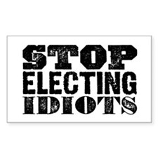 Elected Idiots Decal