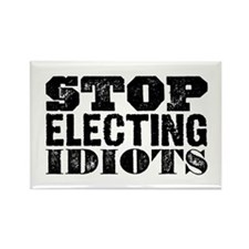 Elected Idiots Rectangle Magnet (100 pack)