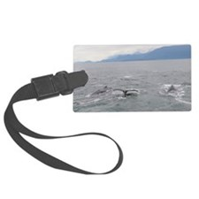 Humpback Whale Luggage Tag