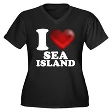 I Heart Sea Island Plus Size T-Shirt