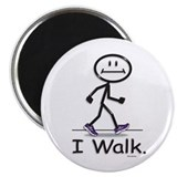 BusyBodies Walking Magnet