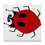 Lady Bug Tile Coaster