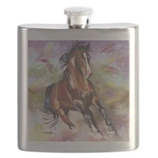 Stallion Running  Flask