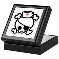 Nurse Molly II-bw Keepsake Box