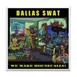 DALLAS SWAT Tile Coaster