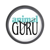 Animal Guru Wall Clock