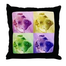 Chinese Shar Pei Dog Throw Pillow