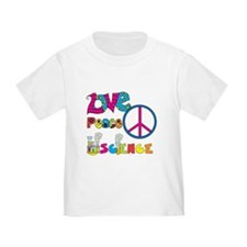 Love Peace Science T