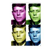 JFK John F. Kennedy Postcards (Package of 8)