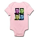 JFK John F. Kennedy Infant Bodysuit