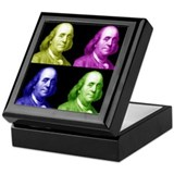 Ben Franklin Keepsake Box