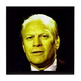 38th President Gerald Ford Tile Coaster