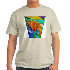 BEAR CATCHING FISH light T-Shirt