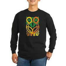 Celtic Chickens Dark Long Sleeve T-Shirt