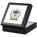 LAFLEUR Family Crest Keepsake Box