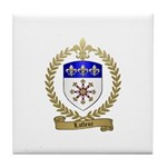 LAFLEUR Family Crest Tile Coaster