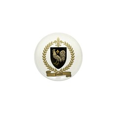 POULIN Family Crest Mini Button (100 pack)