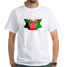 The flag of Afghanistan ribbon Shirt