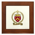 BOLDUC Family Crest Framed Tile
