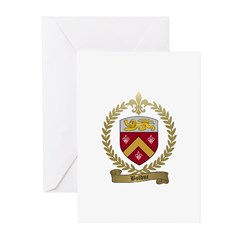 BOLDUC Family Crest Greeting Cards (Pk of 10)
