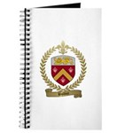 BOLDUC Family Crest Journal