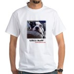sad -dog (LIFES RUFF) T-Shir ,picture on back too