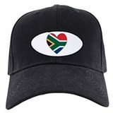 South African Heart Baseball Hat