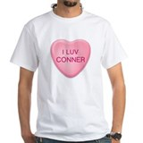 I Luv CONNER Candy Heart Shirt