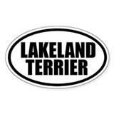 Lakeland Terrier Oval Decal