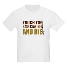 Bass Clarinet:Touch/Die Kids T-Shirt