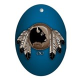 First Nations Metis Art Ornament / Keepsake Gifts