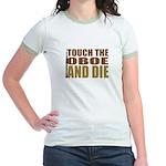 Oboe:Touch/Die Jr. Ringer T-Shirt
