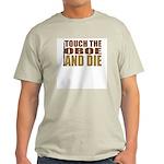 Oboe:Touch/Die Ash Grey T-Shirt