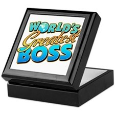 World's Greatest Boss Keepsake Box