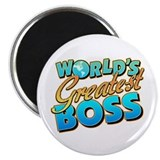 World's Greatest Boss Magnet