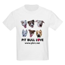 Pitbull Love Kids T-Shirt